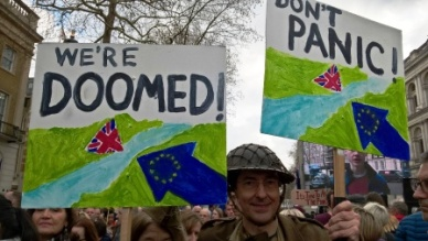 190323 BREXIT MARCH DAD'S ARMY